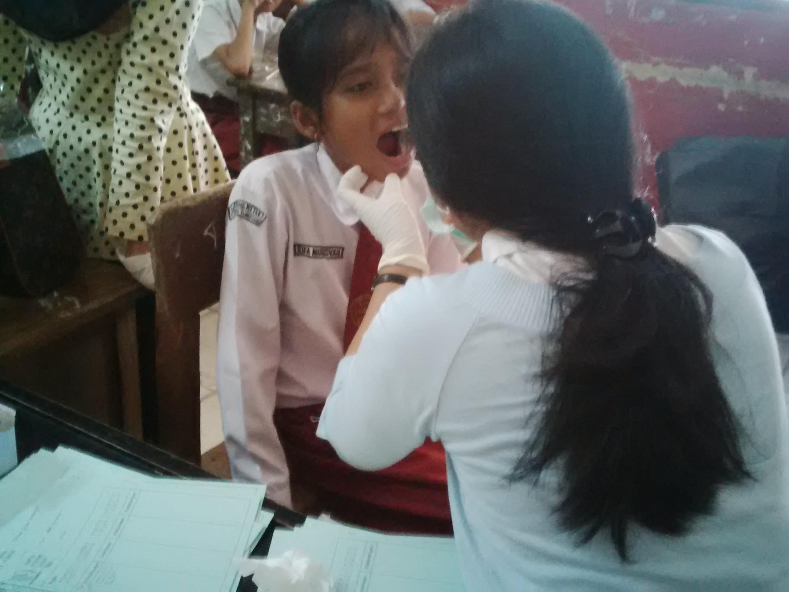BAKSOS Dental Clinic DI SDN 01 Lengkong Wetan, Serpong, Tangerang